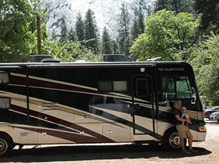 BA HIGHLIFE - RV with baby in California